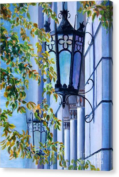 Ymca Building Downtown Shreveport Louisiana Canvas Print