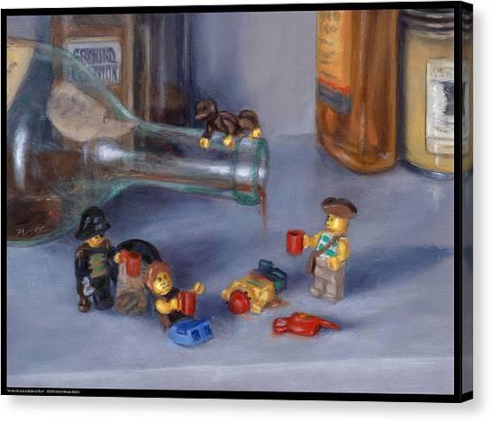 Yo-ho-ho And A Bottle Of Rum Canvas Print