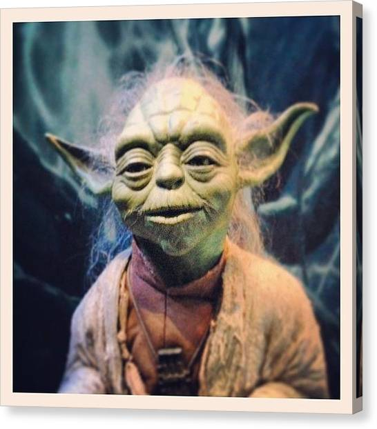 Yoda Canvas Print - Yoda! by Eric Dick