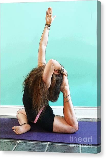 Yoga Study 3 Canvas Print