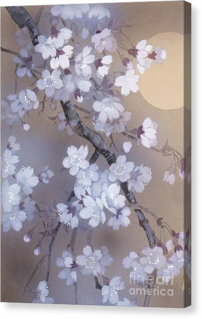 Cranes Canvas Print - Yoi Crop by Haruyo Morita