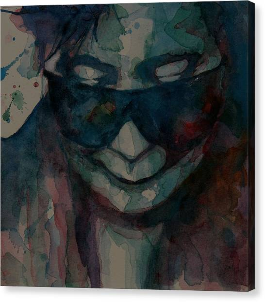 Yoko Ono Canvas Print - I Don't Know Why by Paul Lovering