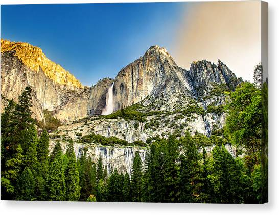 Yosemite Canvas Print - Yosemite Falls  by Az Jackson