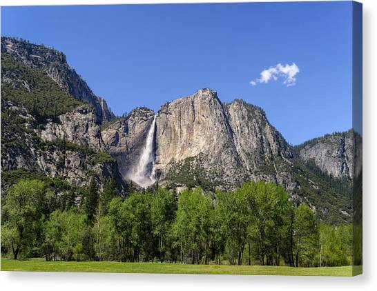 Yosemite Great Falls Canvas Print