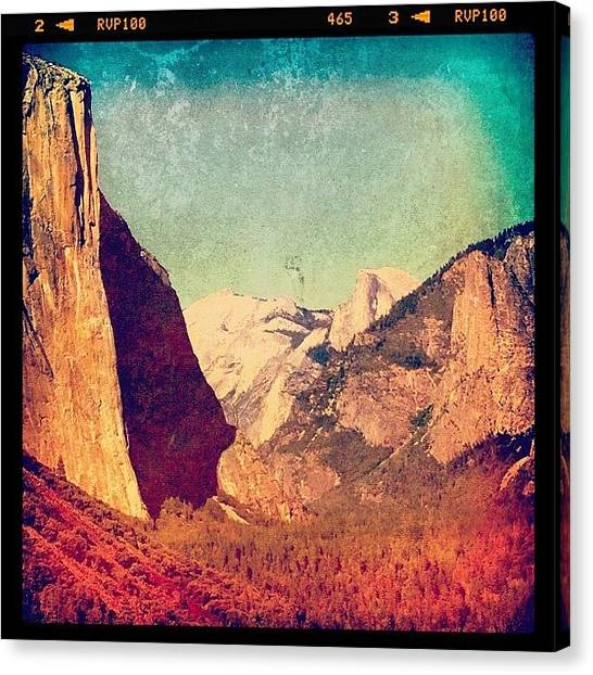 Scenic Canvas Print - Yosemite by Jill Battaglia