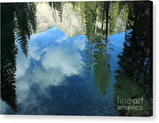 Yosemite Reflection 2 Canvas Print