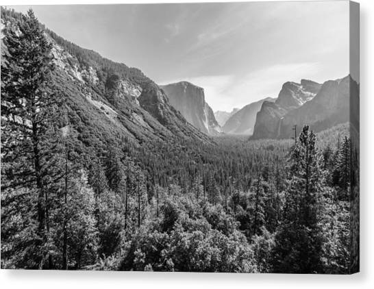 Yosemite Tunnel View Canvas Print