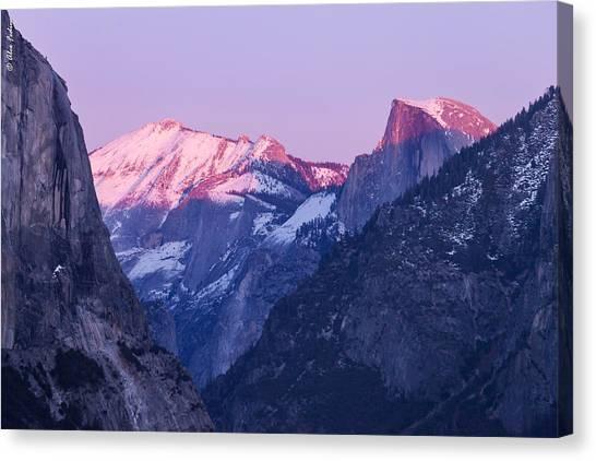 Yosemite Valley Panorama Canvas Print