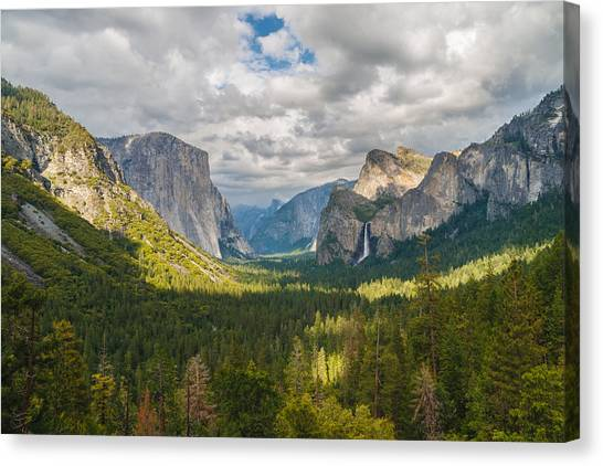 Ansel Adams Canvas Print - Yosemite Valley by Sarit Sotangkur