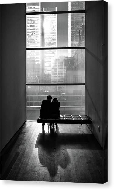 You And Me Canvas Print by Tomer Eliash