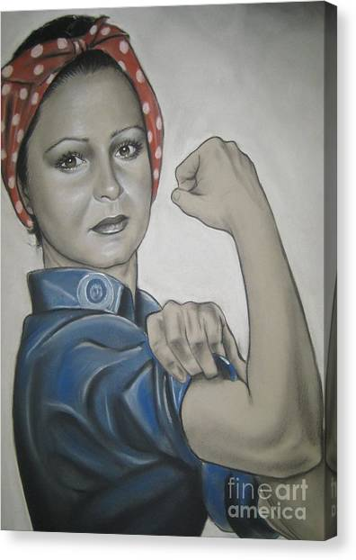 You Can Do It Canvas Print by Anastasis  Anastasi