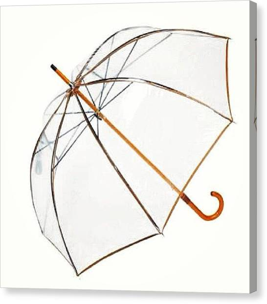 Rihanna Canvas Print - you Can Stay Under My Umbrella by Margherita Anna Mulas