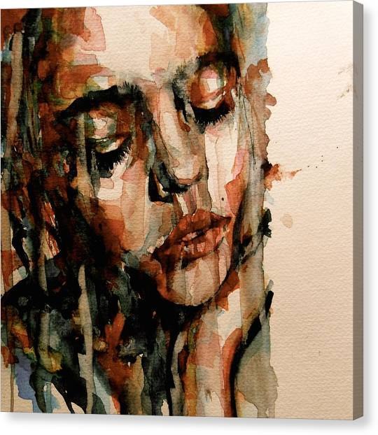 Heart Canvas Print - You Ditch It All To Stay Alive A Thousand Kisses Deep by Paul Lovering