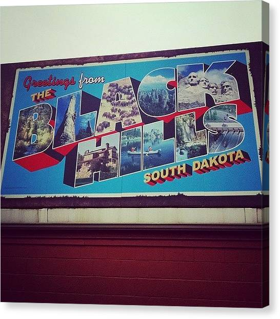 South Dakota Canvas Print - Black Hills Of South Dakota by Kinsey Rabold