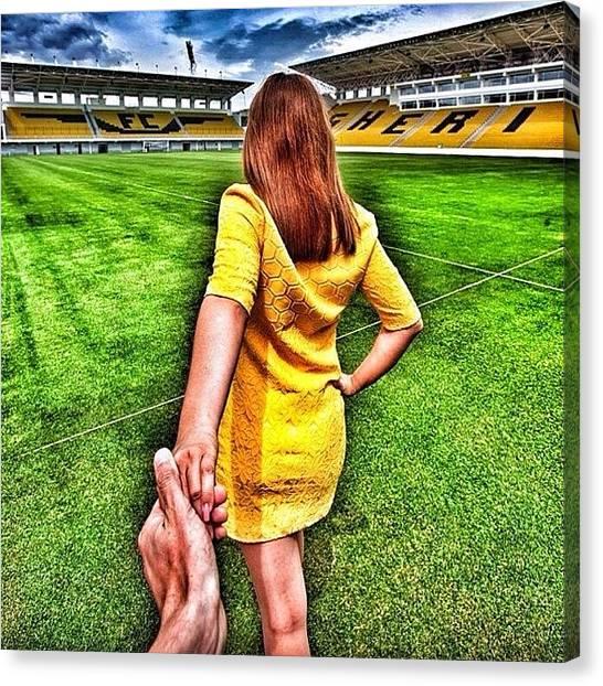 Fifa Canvas Print - #youarefootball #followmeto #f4f by Djahangir Begmatov