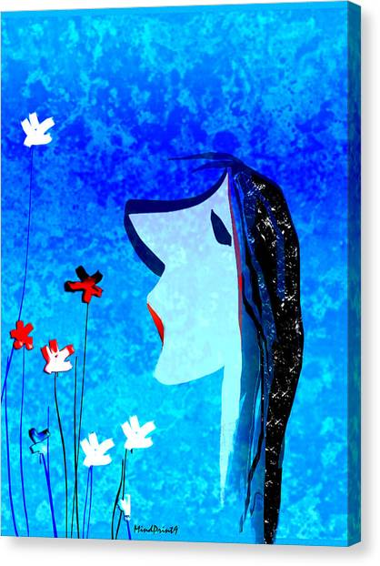 Young Maiden Canvas Print