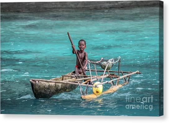 Young Seaman Canvas Print