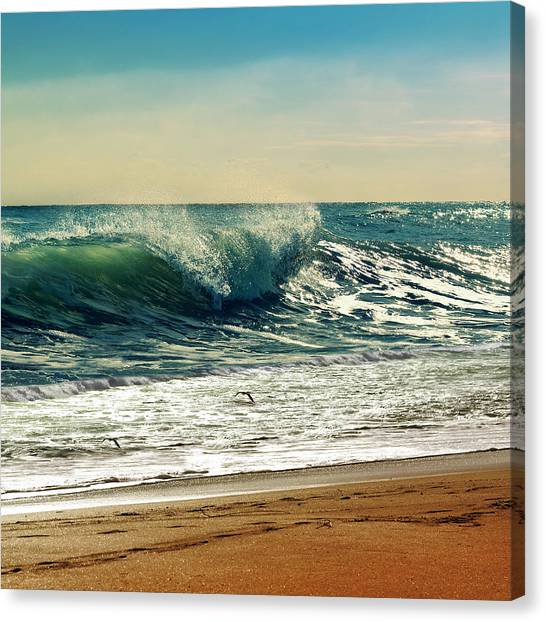 Lifeguard Canvas Print - Your Moment Of Perfection by Laura Fasulo