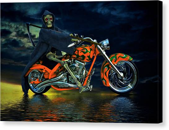 Canvas Print - Your Ride Awaits by Steven Agius