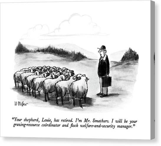 Your Shepherd Canvas Print