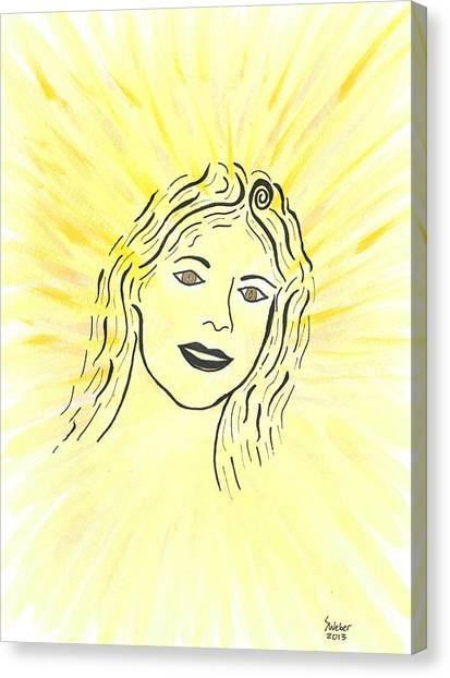 Your Spirit Shines On Canvas Print