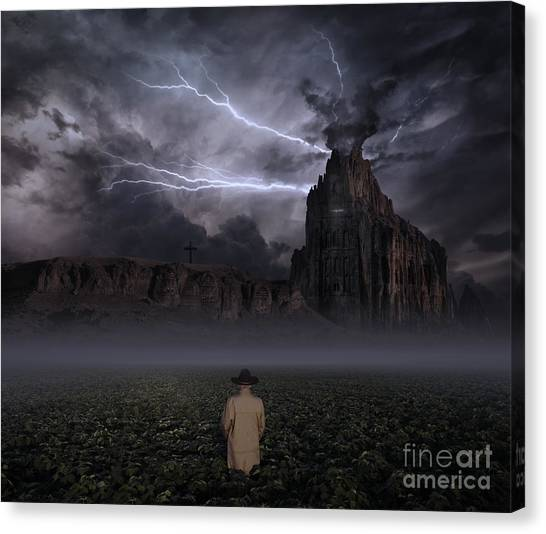 Desolation Canvas Print - Your Thoughts Run Deeper by Keith Kapple