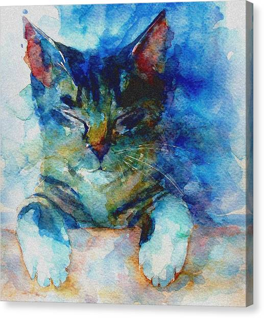 Kittens Canvas Print - You've Got A Friend by Paul Lovering