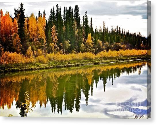 Yukon Autumn Canvas Print