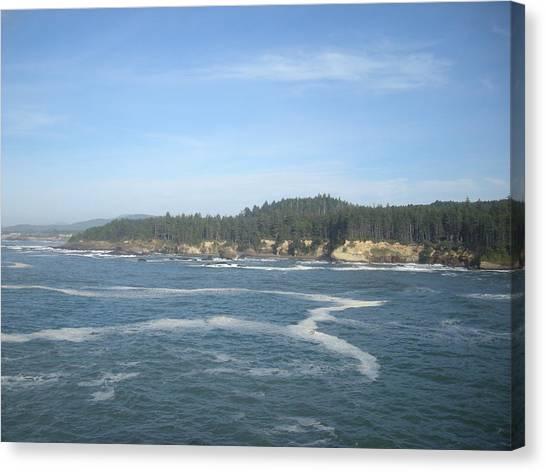 Z Ocean Canvas Print