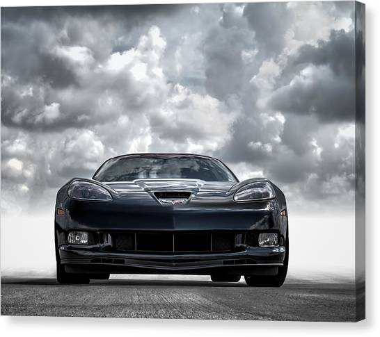 Chevrolet Corvette Canvas Print - Z06 by Douglas Pittman