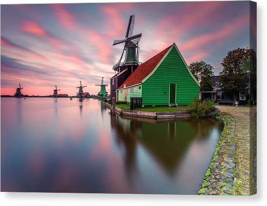 Holland Canvas Print - Zaanse Schans by Carlos M. Almagro