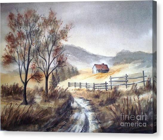 Zagorski Puteljak Canvas Print