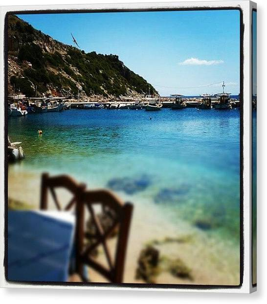 Ford Canvas Print - #zakynthos #greece by Alistair Ford