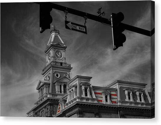 Zanesville Oh Courthouse Canvas Print