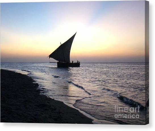 Zanzibar Sunset 20 Canvas Print by Giorgio Darrigo