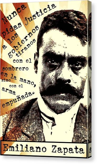 Zapatismo Canvas Print
