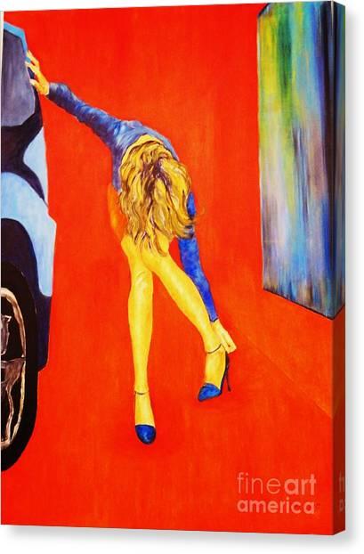 Zapatos 3 Canvas Print