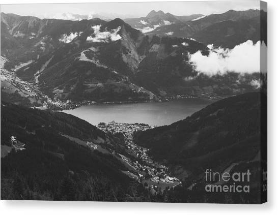 Zell Am See Iv Canvas Print