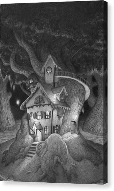 Zelma's House Canvas Print