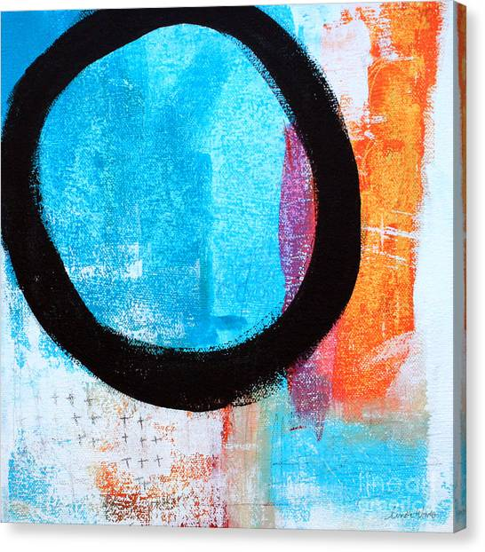 Loft Canvas Print - Zen Abstract #32 by Linda Woods