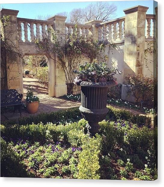 Om Canvas Print - Zen Garden #beautiful #garden #zen by Mike Holp