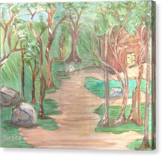 Zen House Canvas Print