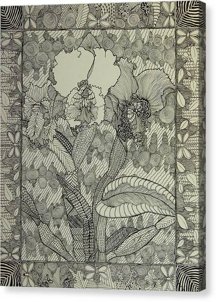 Zen Orchids Canvas Print