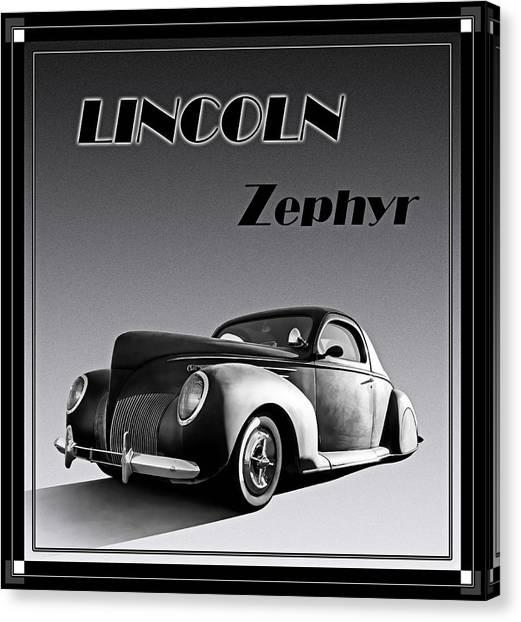Art Deco Canvas Print - Zephyr by Douglas Pittman