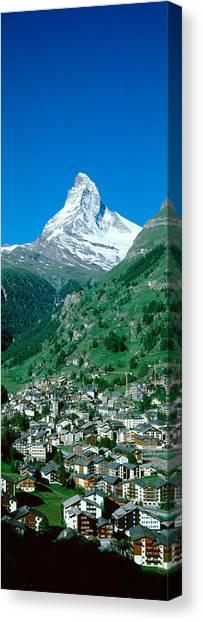 Matterhorn Canvas Print - Zermatt, Switzerland by Panoramic Images