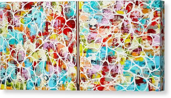 Sold .....ziemlich Blutenblatter Canvas Print