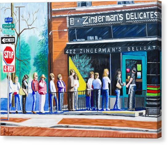 Zingerman's Deli Canvas Print
