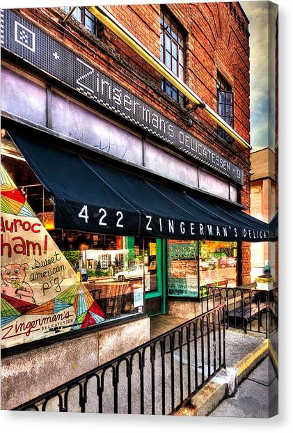 Zingerman's Delicatessen Canvas Print