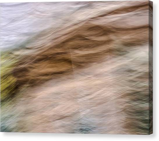 Zion Fall Abstract Canvas Print