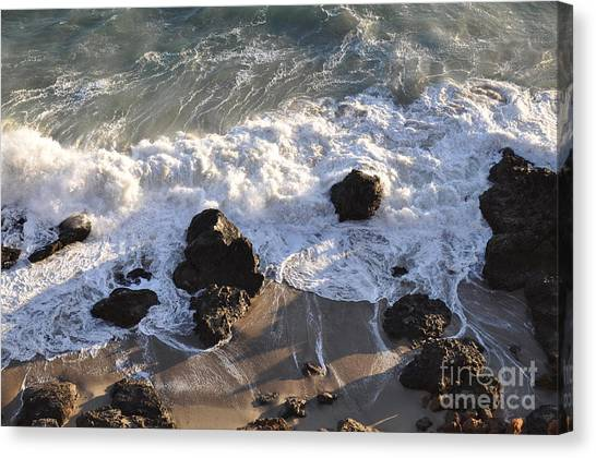 Zuma Beach Canvas Print